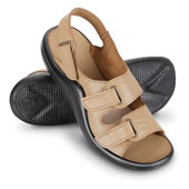 The Lady's Walk On Air Strap Sandals.