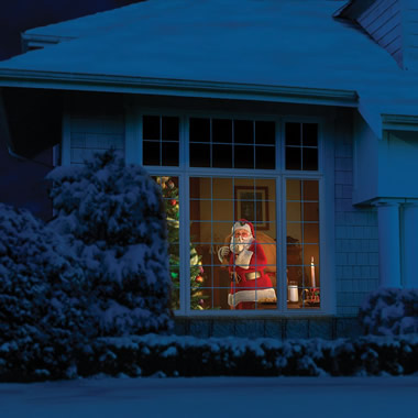 The Superior Holiday Scene Projector.
