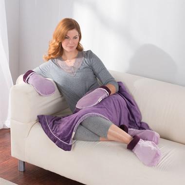 The Spa Aromatherapy Blanket.
