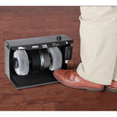The Hands Free Electric Shoe Polisher.