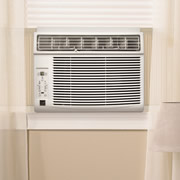 Slim Profile Air Conditioner.