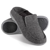 The Gentleman's Plantar Fasciitis Herringbone Slippers.