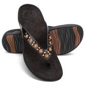 The Plantar Fasciitis Gemstone Sandals.