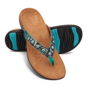 The Plantar Fasciitis Gemstone Sandals.