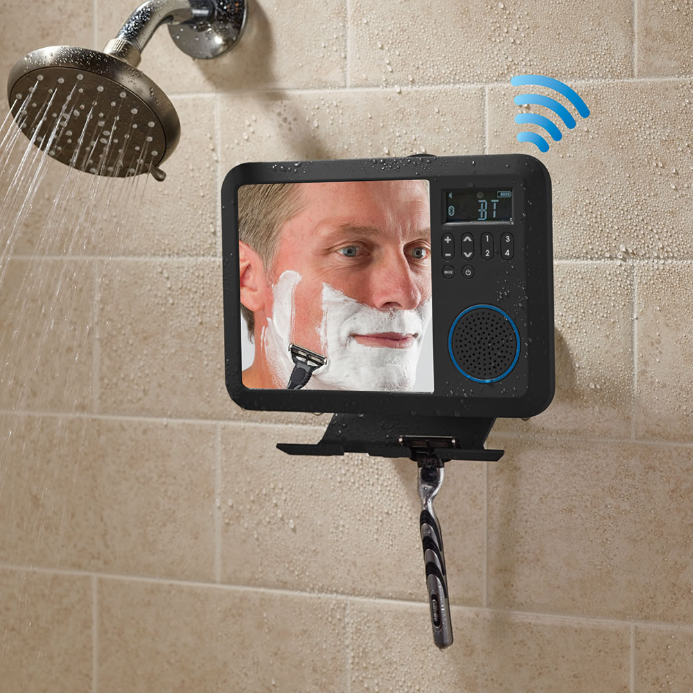 The Only Bluetooth Shower Mirror Radio 2