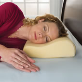 The Neck Pain Relieving Memory Foam Pillow.