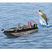 The Fish Catching RC Boat.