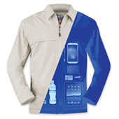 The 24 Pocket Tech Jacket.