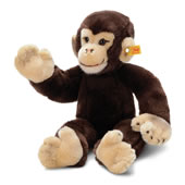 The Steiff Plush Chimpanzee.