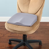 The Posture Improving Seat Cushion.