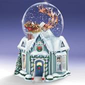 The Thomas Kinkade Night Before Christmas Snowglobe.