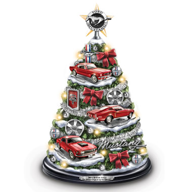 The Illuminated Ford Mustang Christmas Tree.