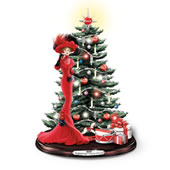 The Illuminated Coca Cola Music Tabletop Tree