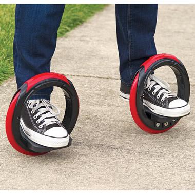 The Sidewinding Circular Skates.