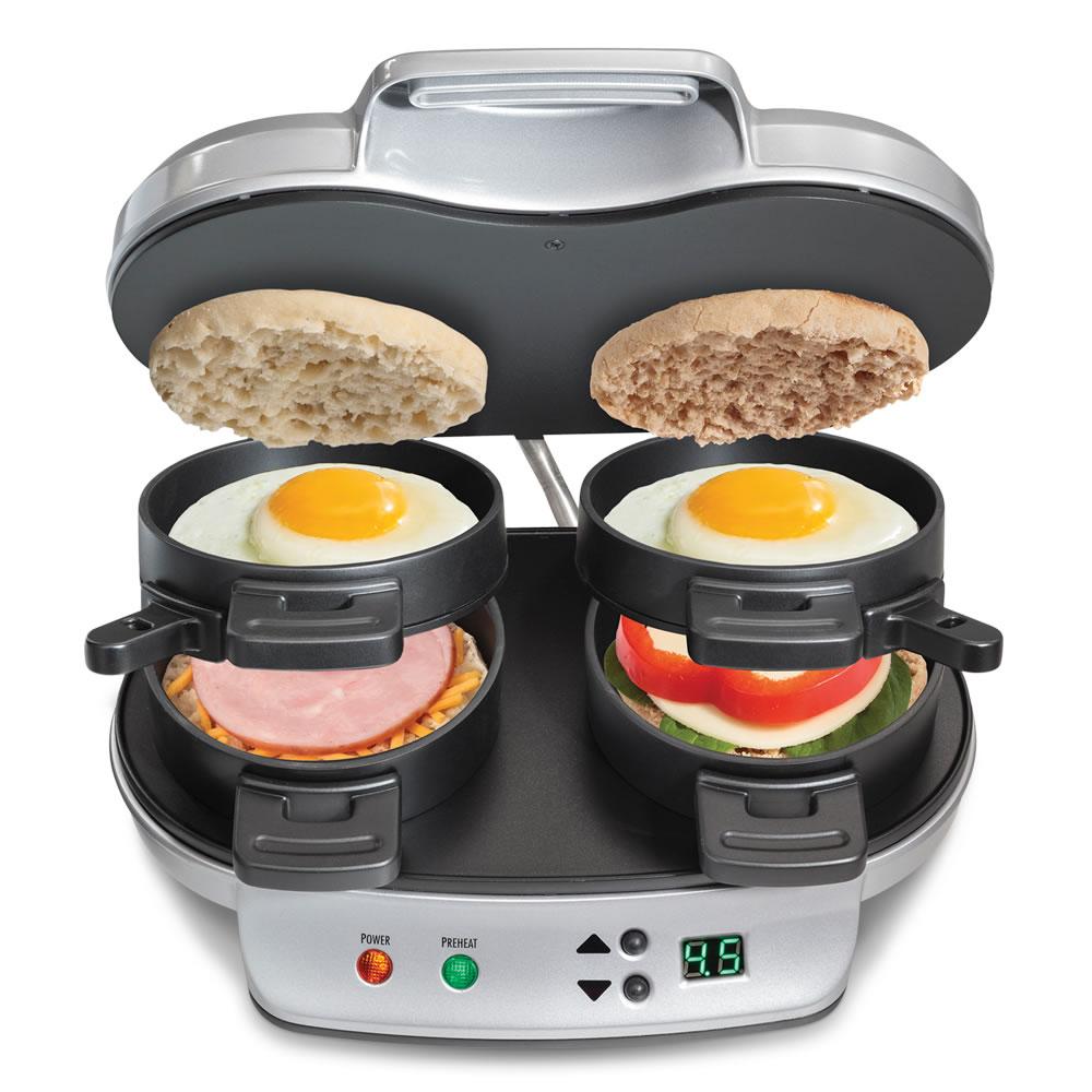 The Tandem Breakfast Sandwich Maker