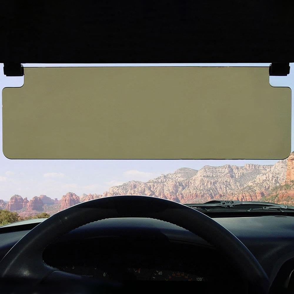 The Driver's See Through Sun Visor 5