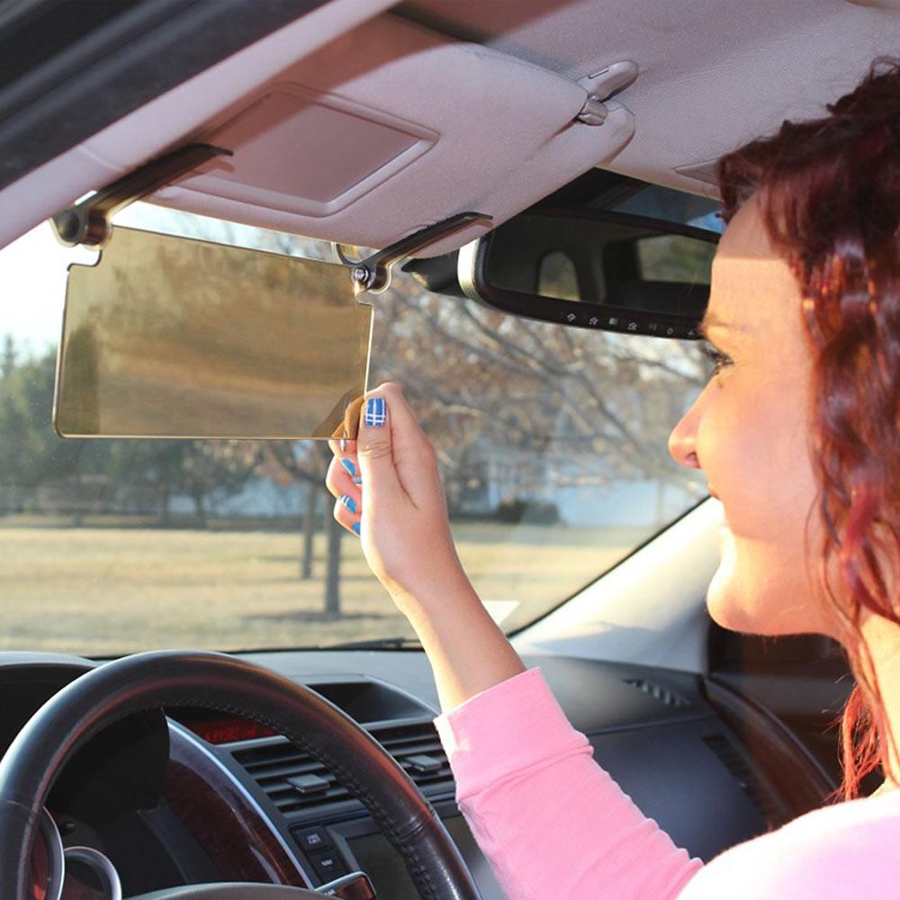 The Driver's See Through Sun Visor 2