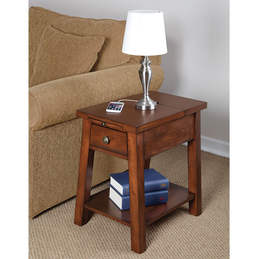 The Device Charging End Table