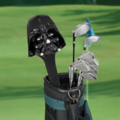 The Force Is With You Golf Club Cover (Darth Vader).