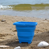 The Packable Beach Pails.
