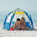 The One Touch Instant Beach Cabana.