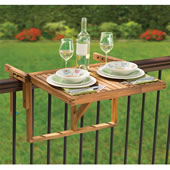 Instant Wooden Deck Table Teak
