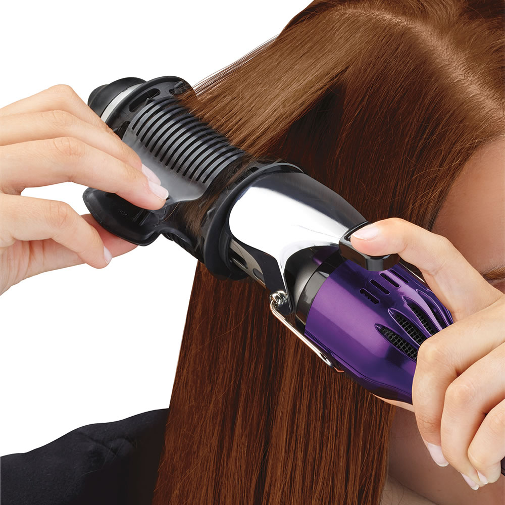 The Only Blow Drying Curling Iron Hammacher Schlemmer