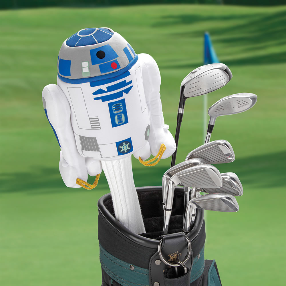 The Force Is With You Golf Club Cover R2 D2 Hammacher
