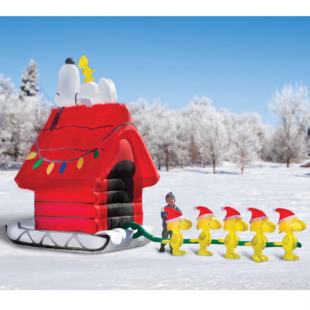 Snoopy outdoor christmas decorations - Snoopy Outdoor Christmas Decorations 14