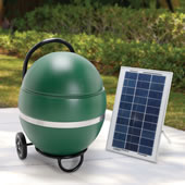 The Solar Powered Mosquito Abatement System.