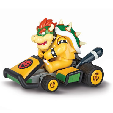 The RC Bowser Racer.