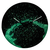 The Glowing Galactic Clock.
