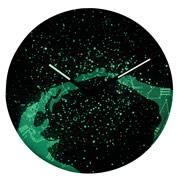 Glowing Galactic Clock