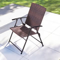 The Folding All Weather Wicker Chairs.