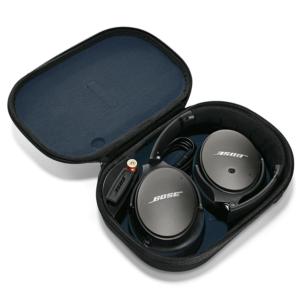 The Bose Quiet Comfort 25 Acoustic Noise Cancelling Headphones 5