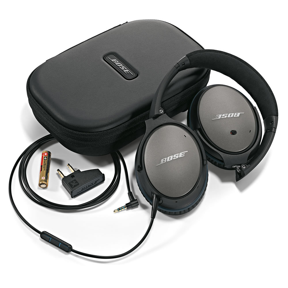 The Bose Quiet Comfort 25 Acoustic Noise Cancelling Headphones 7