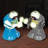 The Glow in the Dark Robotic Pugilists.