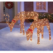 The Glistening Rattan Bobbing Deer.
