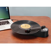 The Portable LP to MP3 Converter.