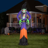 The 12' Inflatable Haunting Hag.