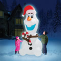 The 8' Inflatable Olaf.