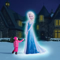 The 8' Inflatable Elsa.
