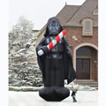 The 16 Foot Inflatable Christmas Vader.