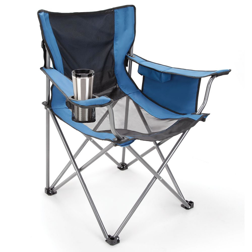 The fan cooled portable lawn chair hammacher schlemmer for Lawn furniture