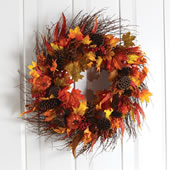 The Harvest Wreath.