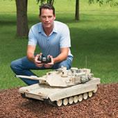 The RC M1A2 Abrams Tank.