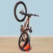 The Space Saving Upright Bike Stand.