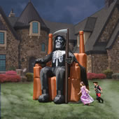 The Inflatable On Call Grim Reaper.