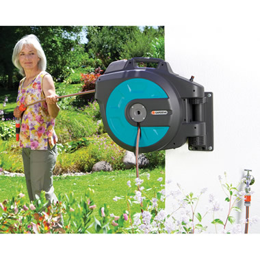 The Automatic Retracting Hose Reel.