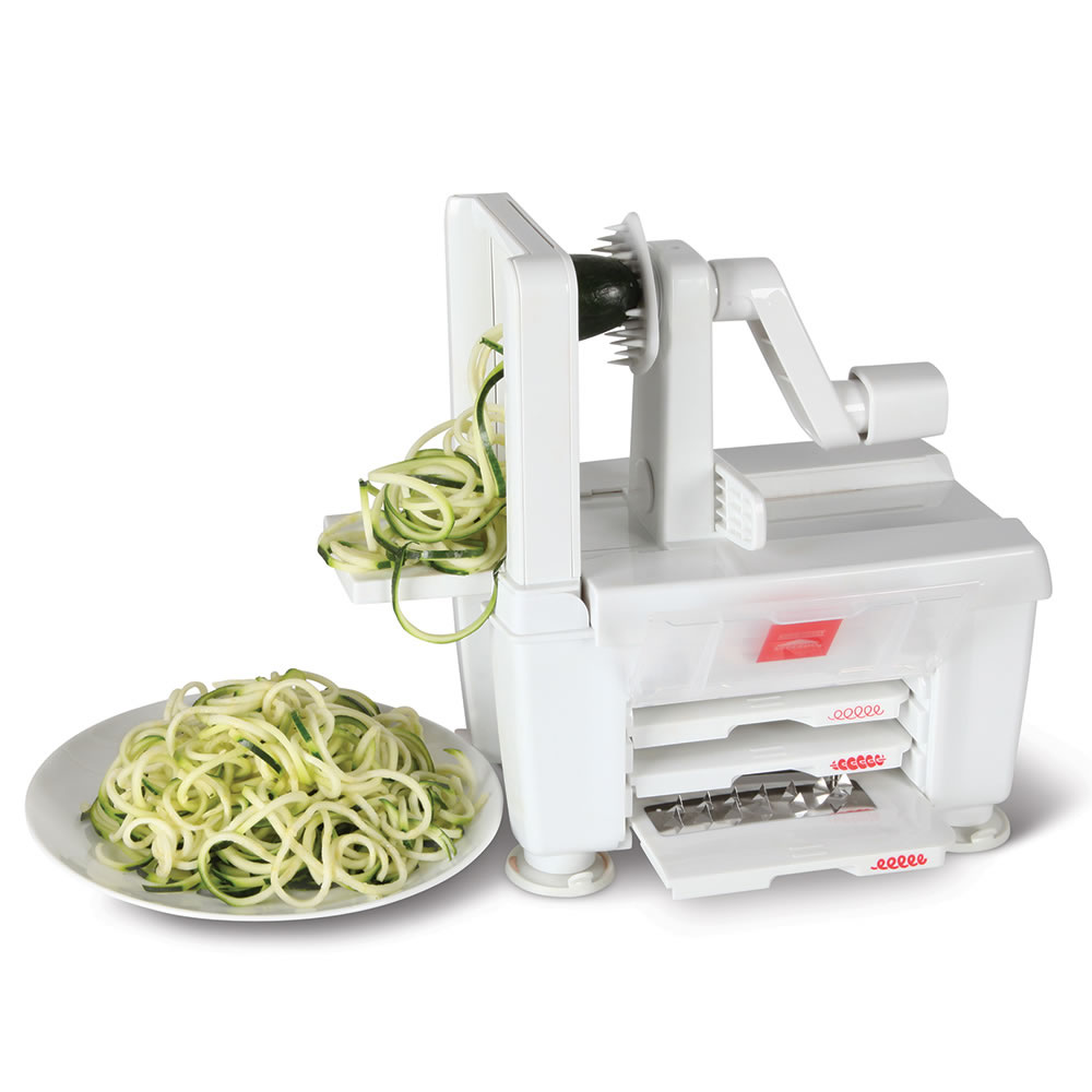 The Four Blade Vegetable Spiralizer 3